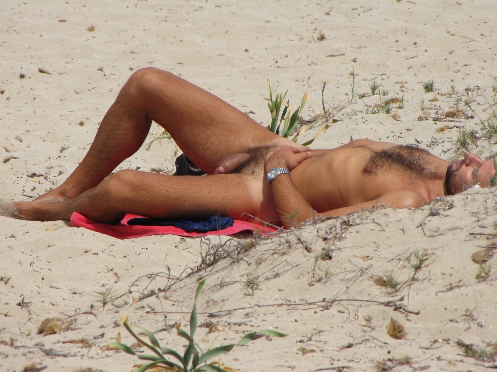 Gay Men At Nude Beach