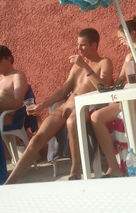 Naked life!