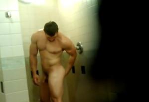 Shower peephole!