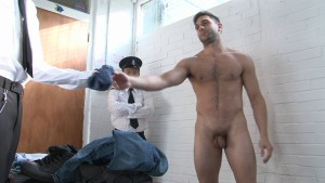 Strip and search in prison!