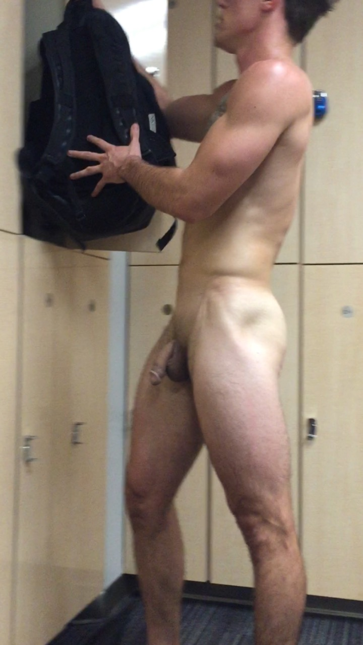 nude at the gym guy