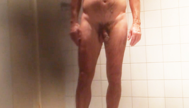 naked in the locker room