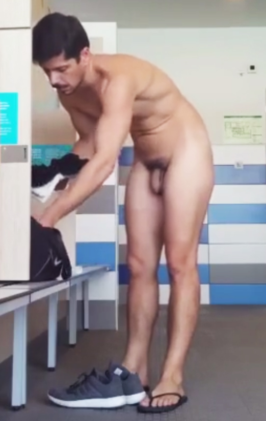 Agree men in locker naked