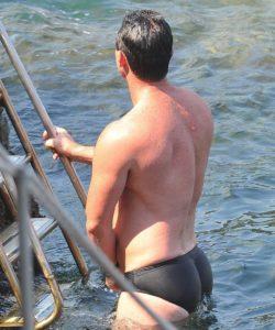 Luke Evans bulge