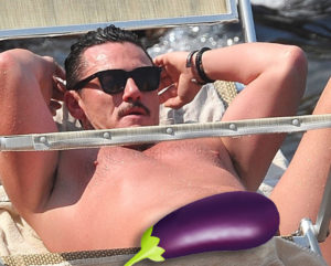 Luke Evans package