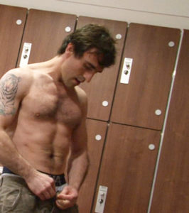 stud in the locker room