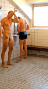 Communal showers