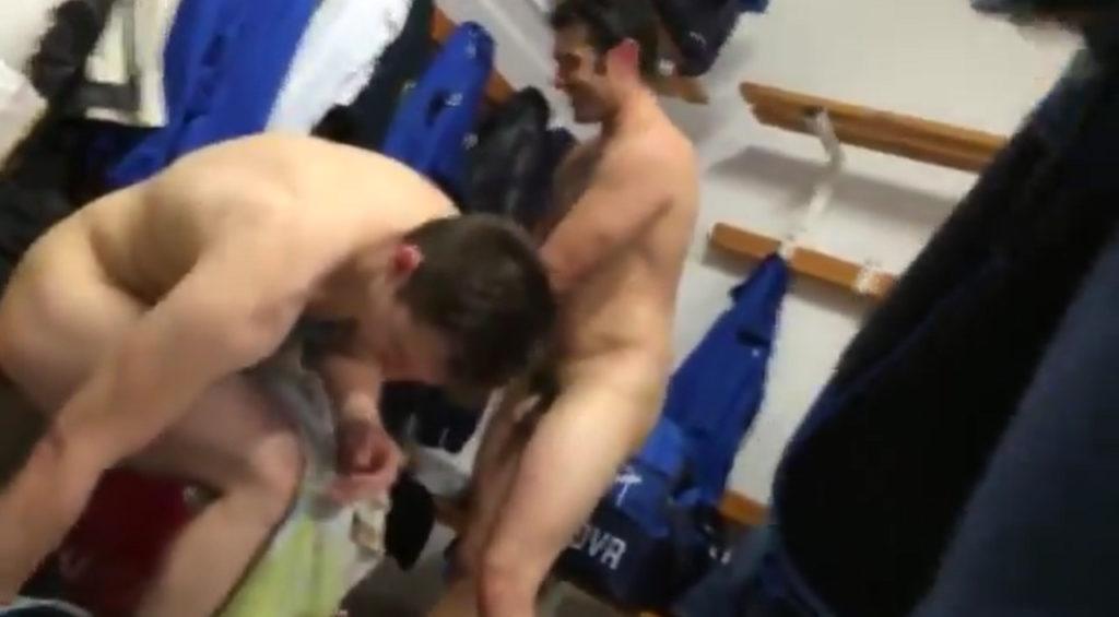 naked teammates