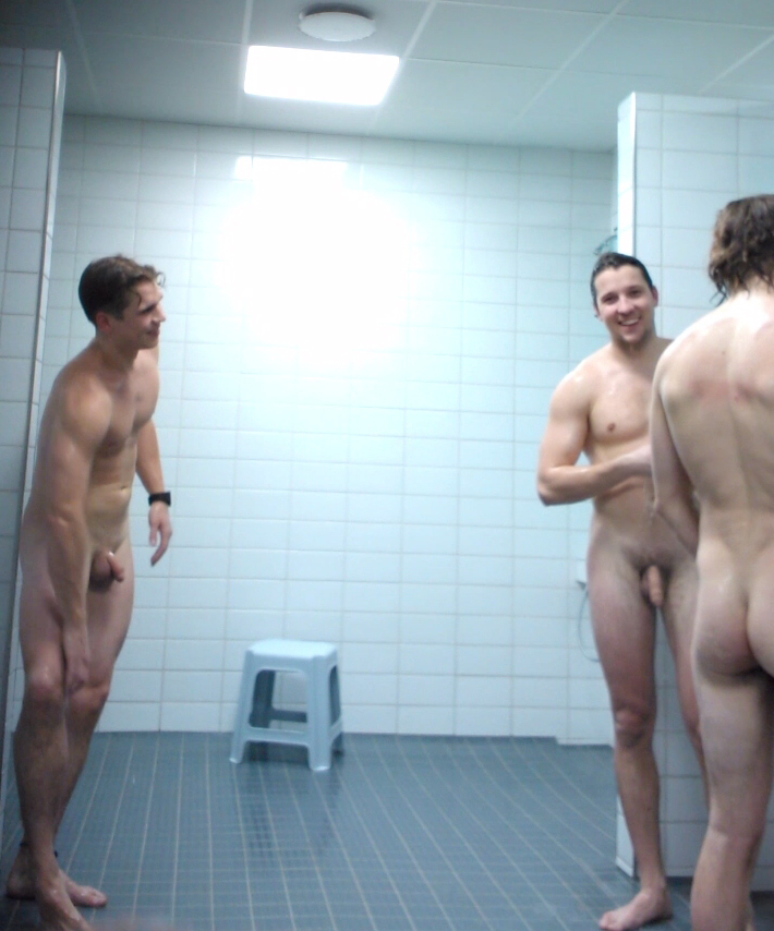 naked chatting in the shower