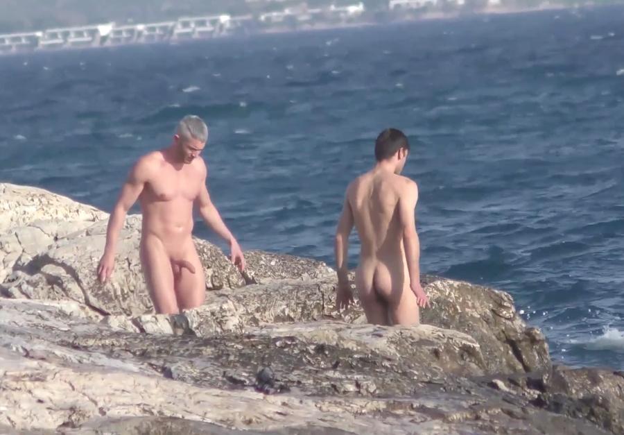 boner at the beach