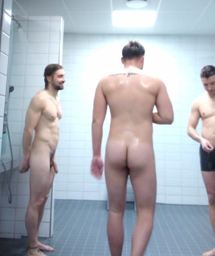 naked guy walks in